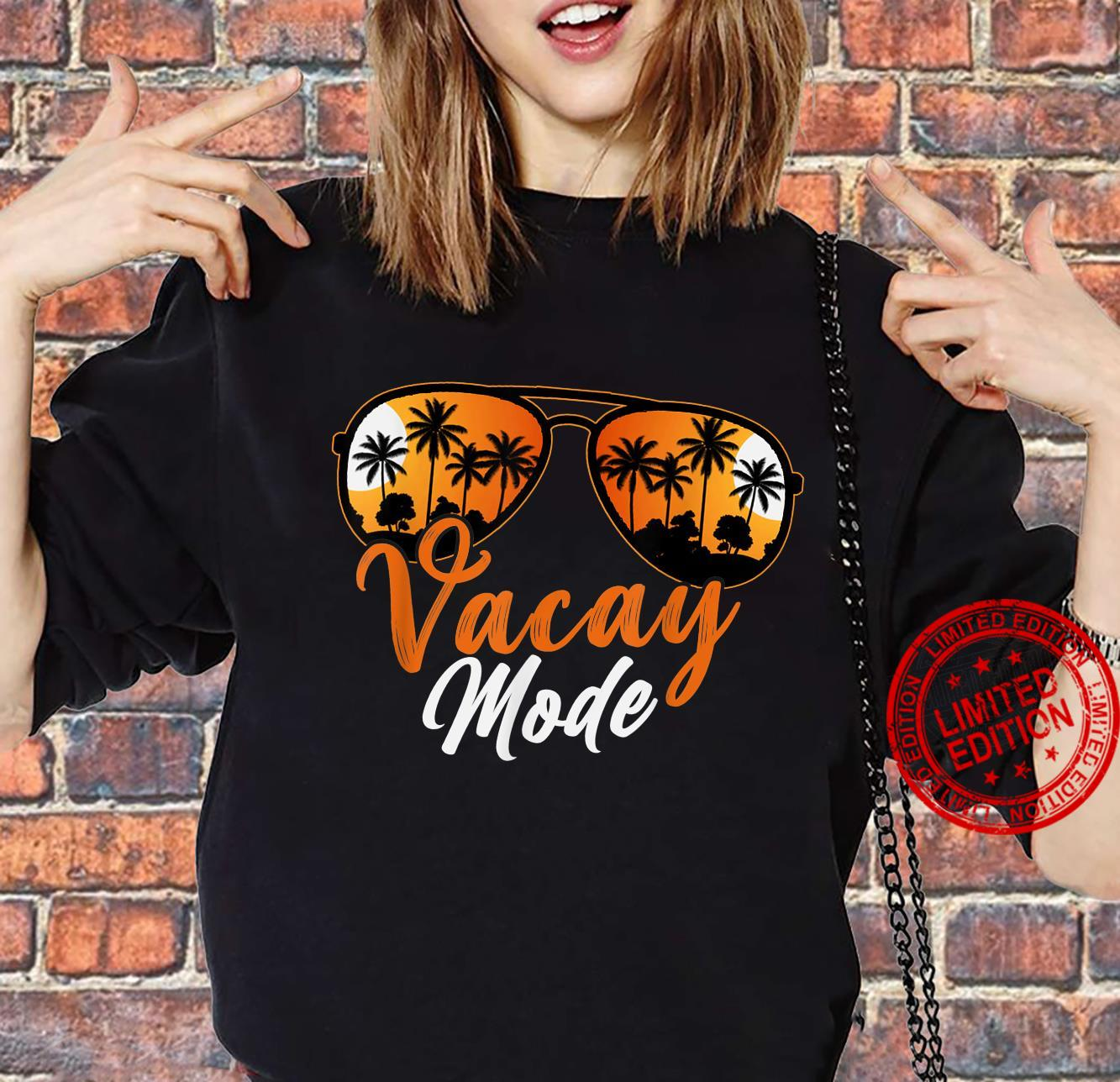 Cute Vacay Mode On Summer Family Vacation Shirt sweater