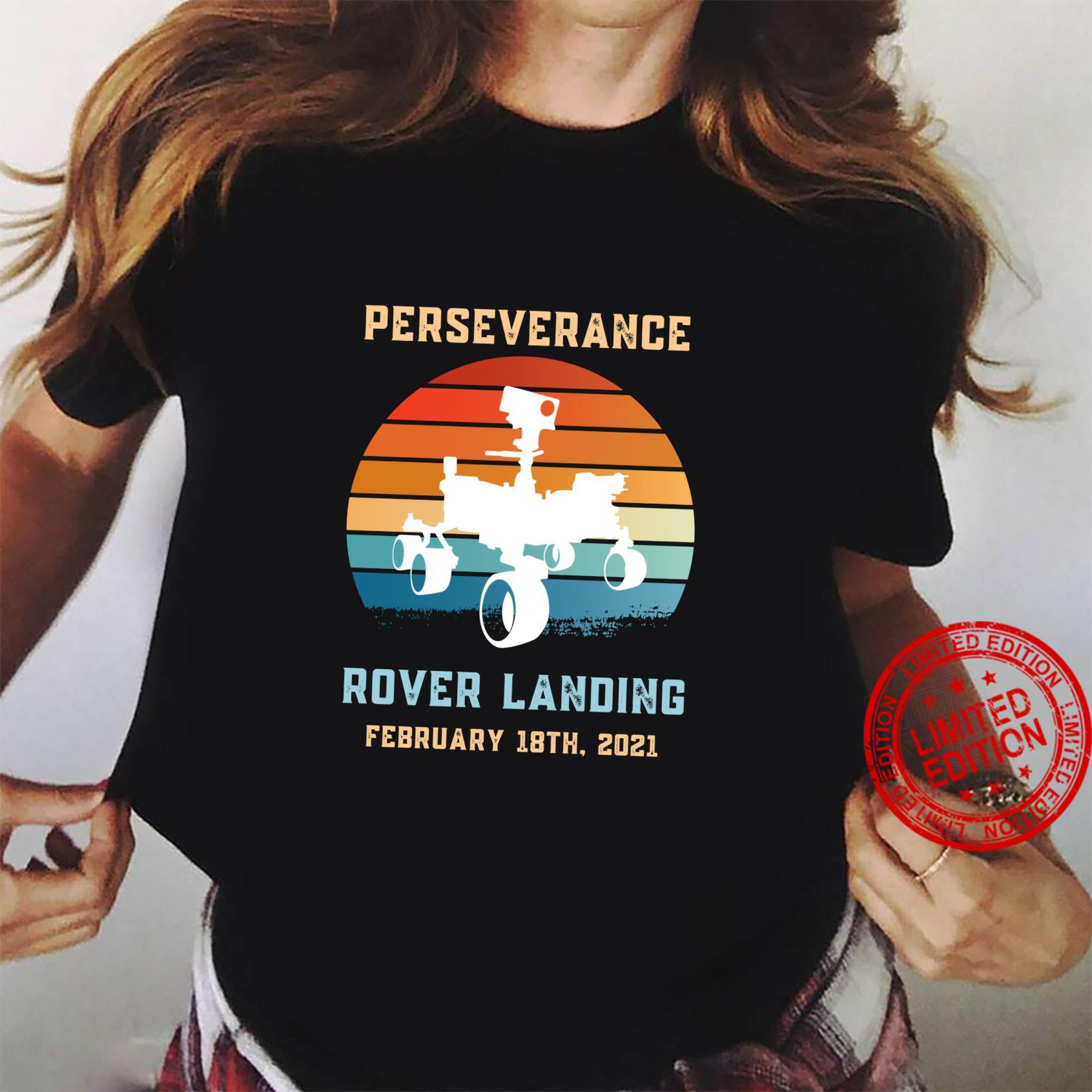 Perseverance Rover Mars Alien Life Searching and Exploration Shirt ladies tee