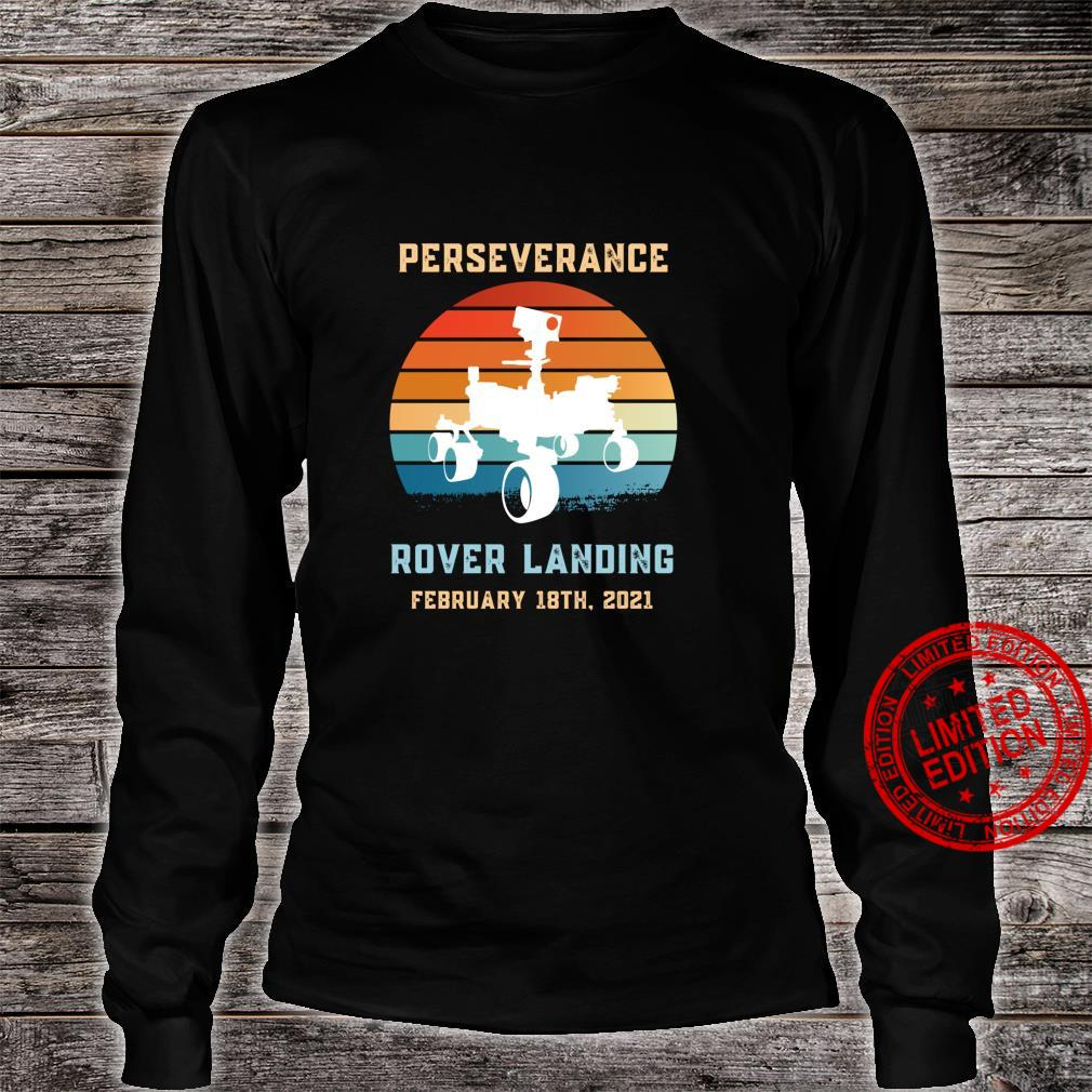 Perseverance Rover Mars Alien Life Searching and Exploration Shirt long sleeved