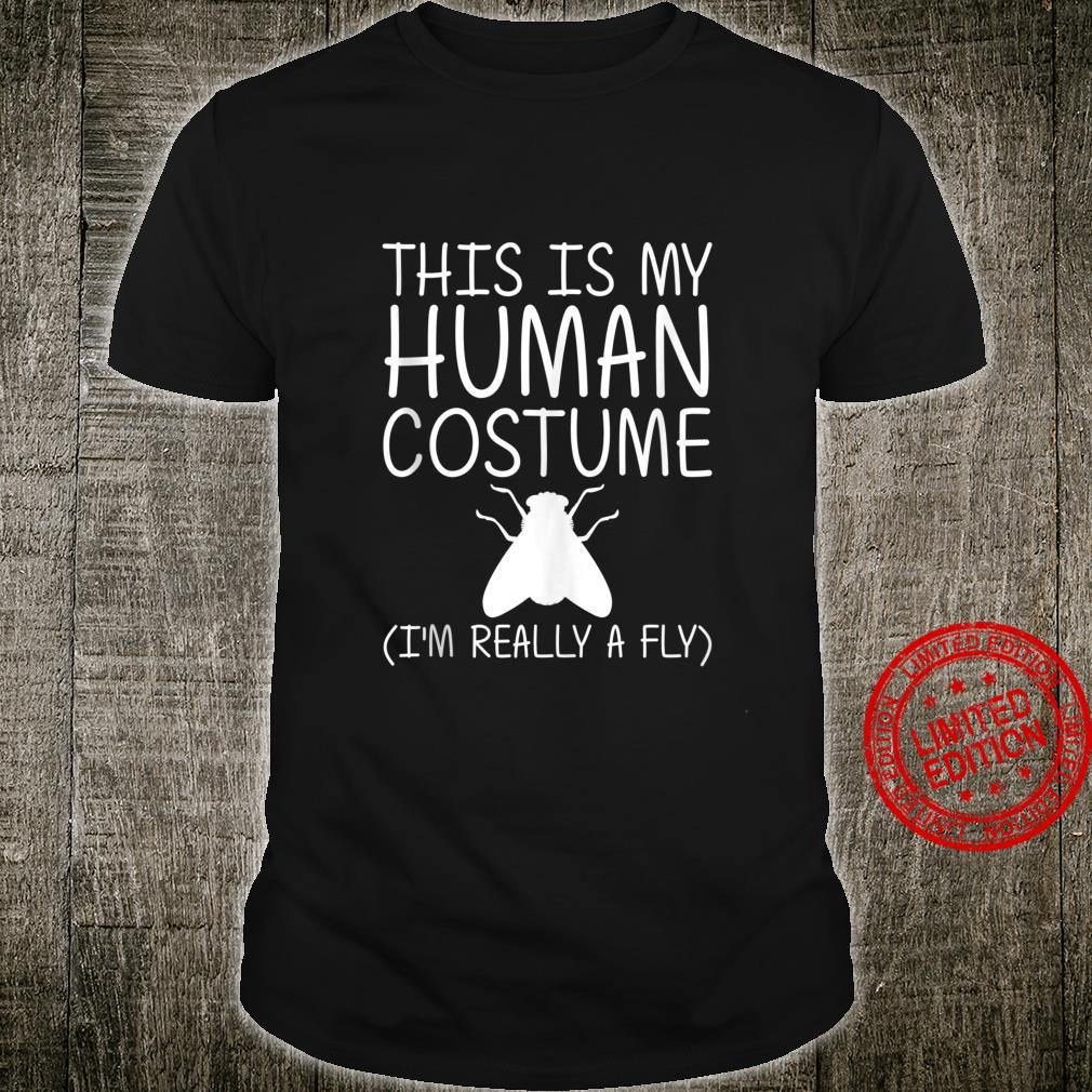 Fly Easy Halloween Human Costume Housefly Insect DIY Shirt